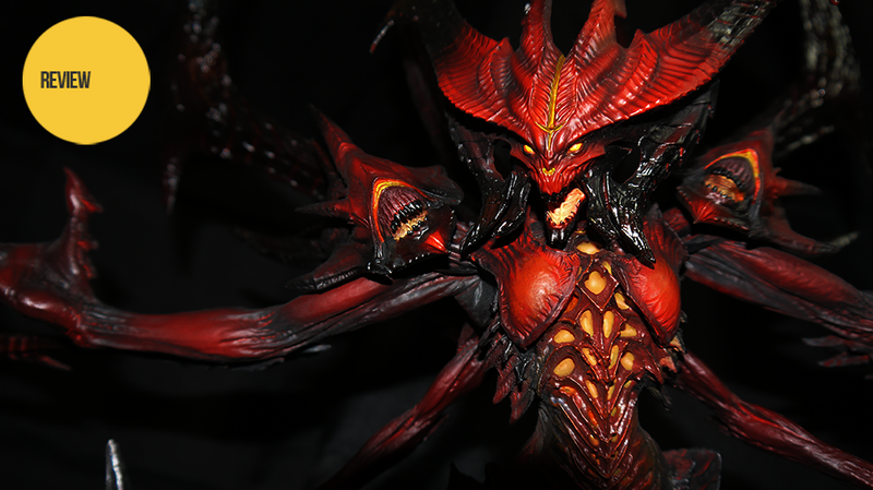 Illustration for article titled Sideshow's Diablo III Statue Is The Real Prime Evil