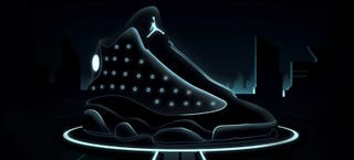 Illustration for article titled They should make these Tron sneakers for real