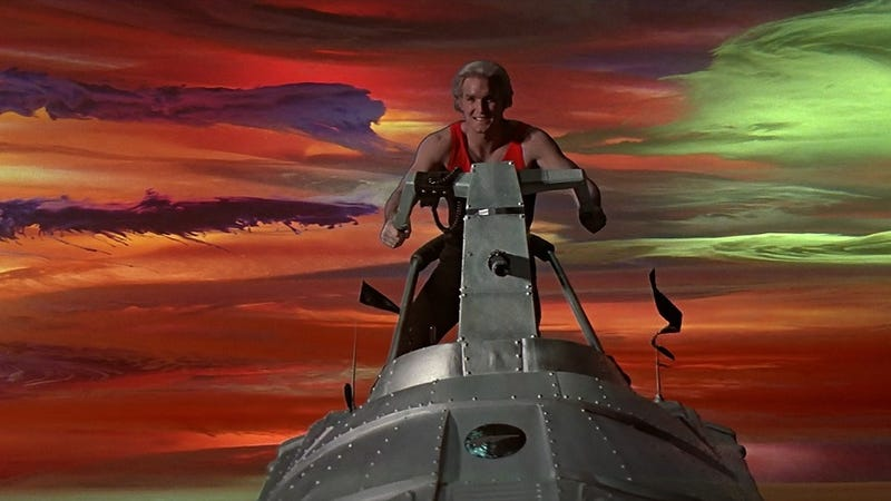 Illustration for article titled The Weirdest Things You Never Knew About the Making Of Flash Gordon