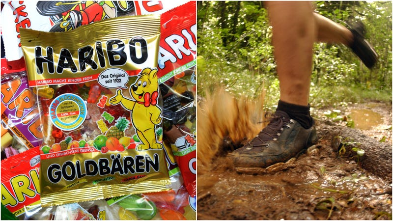 Illustration for article titled Gummy bears helped police crack the case of a naked runner