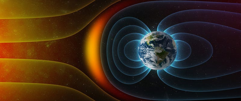 Illustration for article titled What Will Happen When the Earth's Magnetic Field Switches