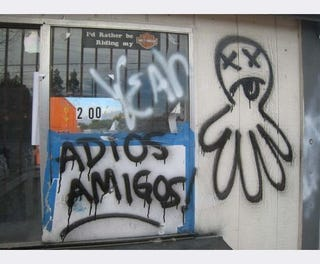 Illustration for article titled Adios, Amigos: Pick Your Part's Octopus Shuts NorCal Wrecking Yards