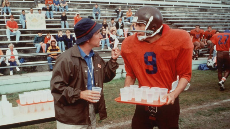 Illustration for article titled Adidas's new fall collection takes inspiration from...Adam Sandler'sWaterboycharacter