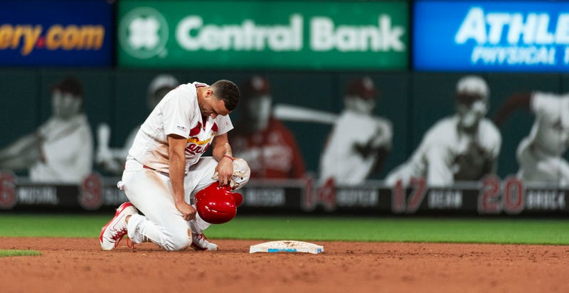 Illustration for article titled Jack Flaherty Gets Picked Off To End The Game, Soaks In His Failure On The Field