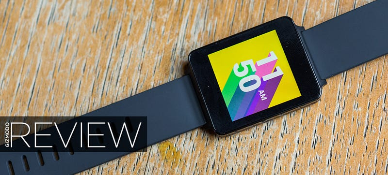 Illustration for article titled ​LG G Watch Review: A Wearable You'll Actually Consider Wearing