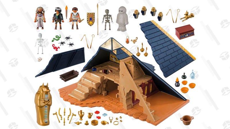Playmobil Pharaoh's Pyramid | $38 | Walmart