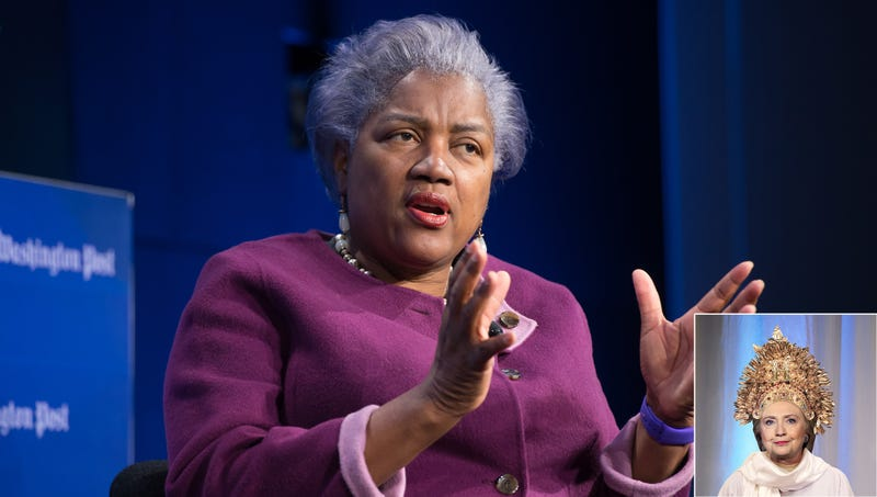 donna brazile says hillary rodham clinton high palace of the solar