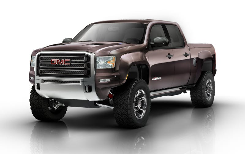Illustration for article titled GMC Sierra All Terrain HD Concept: Diesel-Powered Off-Road Awesome
