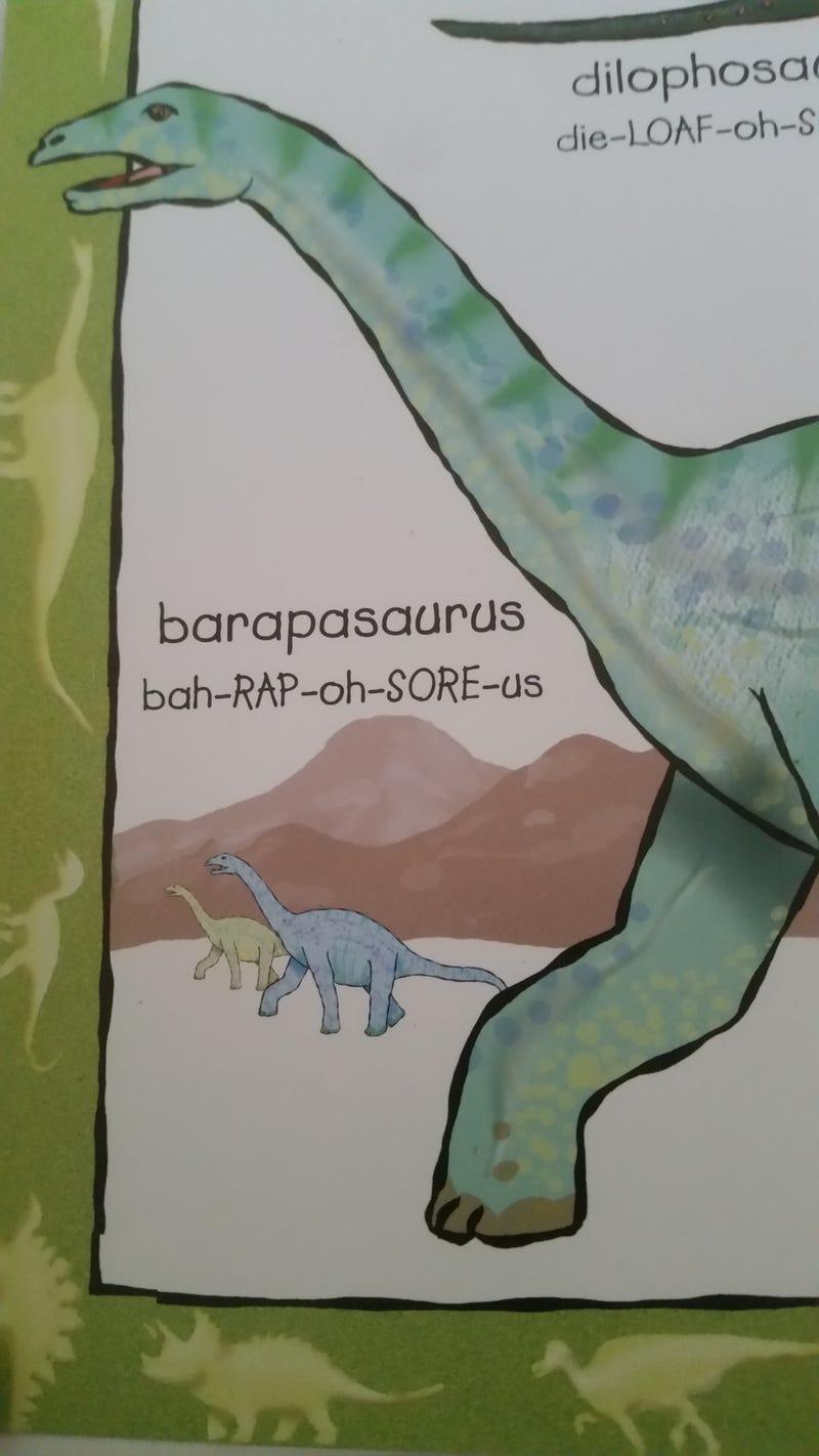 Illustration for article titled Bah-RAP