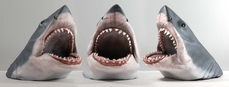 Illustration for article titled A 1:6 Scale Replica Of The JawsShark, To Feast Upon Your Figures