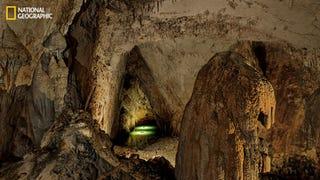 Illustration for article titled Un sistema de cartografía láser mide la cueva más grande del mundo
