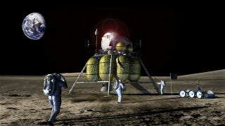 Illustration for article titled Secretive company to announce 'game-changing' lunar mission — and it could involve humans