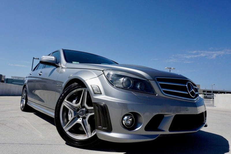 Illustration for article titled At $19,995, Might This 2009 Mercedes-Benz C63 AMG Be an OMG Good Deal?