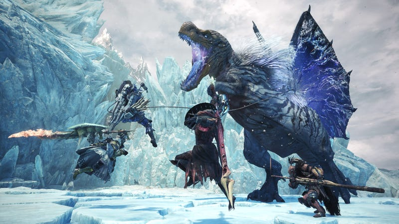 Iceborne is a great way to get hideously addicted to Monster