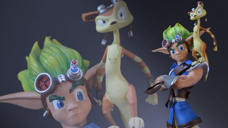 Illustration for article titled Sadly, Jak's Plastic Counterpart Is As Quiet as the Real Thing