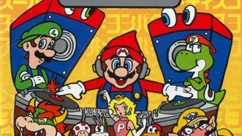 """Illustration for article titled Pop punk band transforms themselves into """"Mario And The Brick Breakers"""""""