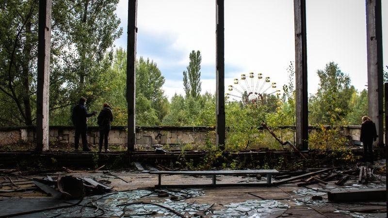 Prípiat, cerca de la central nuclear de Chernóbil / The Bohemian Blog.