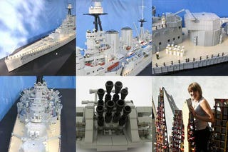 Illustration for article titled 20-Foot-Long Lego Battlecruiser Can Probably Sink Oil Tankers