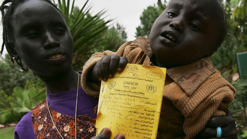 What human rights violations are occurring in Darfur?
