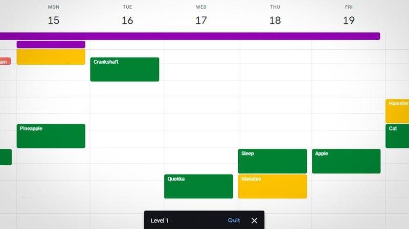 Gogle Calendar.How To Turn Google Calendar Into Space Invaders