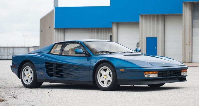 Illustration for article titled Blue is the best Ferrari color