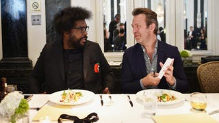Questlove and Saveur magazine Editor-in-Chief Adam Sachs appear during Taste of Waldorf Astoria at the Waldorf Astoria Hotel in New York City on Feb. 23, 2016.Bryan Bedder/Getty Images for Waldorf Astoria Hotels & Resorts