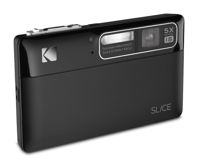 """Illustration for article titled Kodak's First Touchscreen Camera Shoots 720p, Goes By """"Slice"""""""