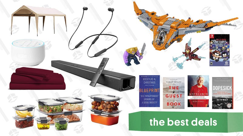 Illustration for article titled Sunday's Best Deals: Nest Security System, BeatsX Headphones, Egyptian Cotton Sheets, and More