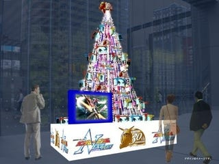 Illustration for article titled Nothing Says Christmas Like A Gundam Christmas Tree