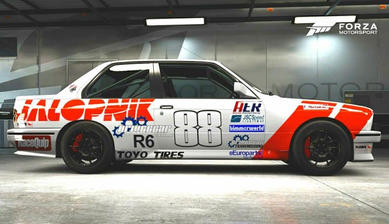 My original Jalop M3 livery in Forza Motorsport 6