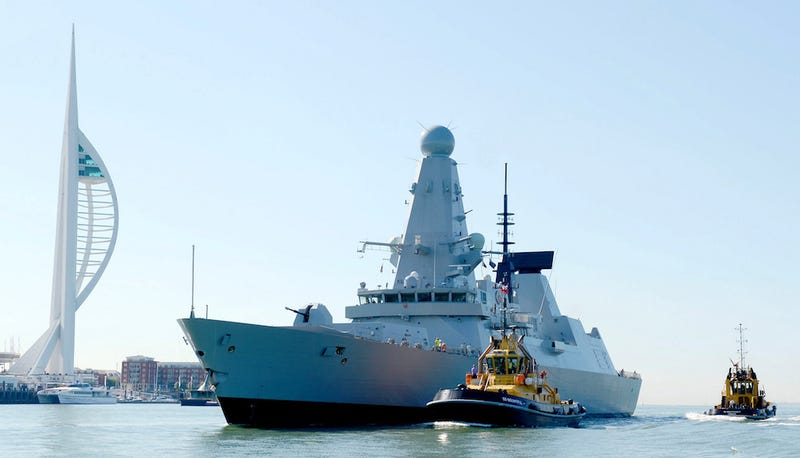 The Royal Navy's HMS Defender, one of six Type 45 Defenders. (Image: Getty Images News)
