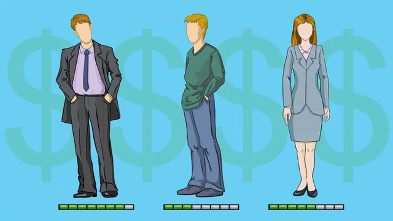 Illustration for article titled Three People, Three Salaries: How They Spend and Save