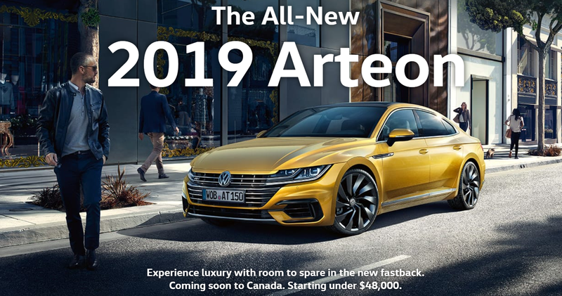 Illustration for article titled The Arteon is expected to start at under $48k CAD