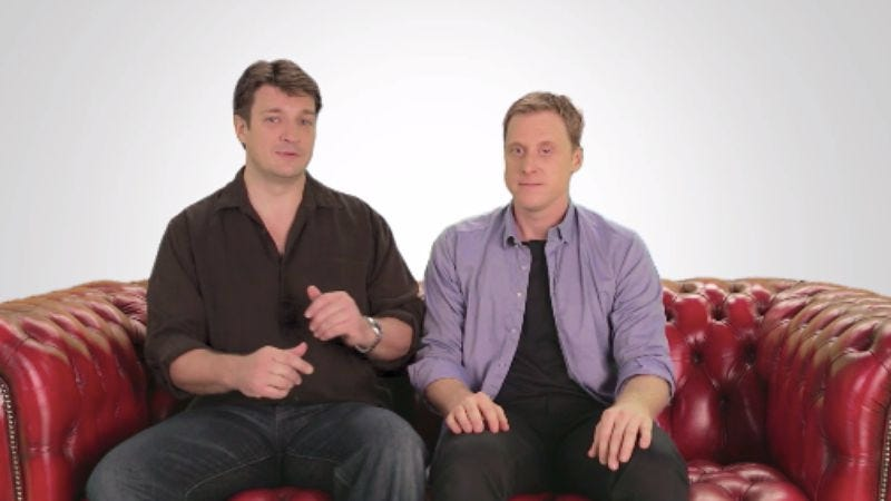 Illustration for article titled Get Involved, Internet: Help Nathan Fillion and Alan Tudyk make a new web series