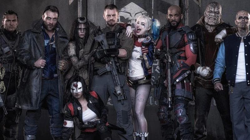 "Illustration for article titled The cast of Suicide Squad has an on-set ""therapist"""