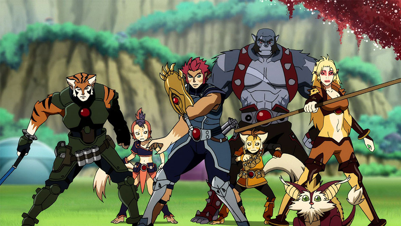 Some ThunderCats, in preparation to, err, ho.