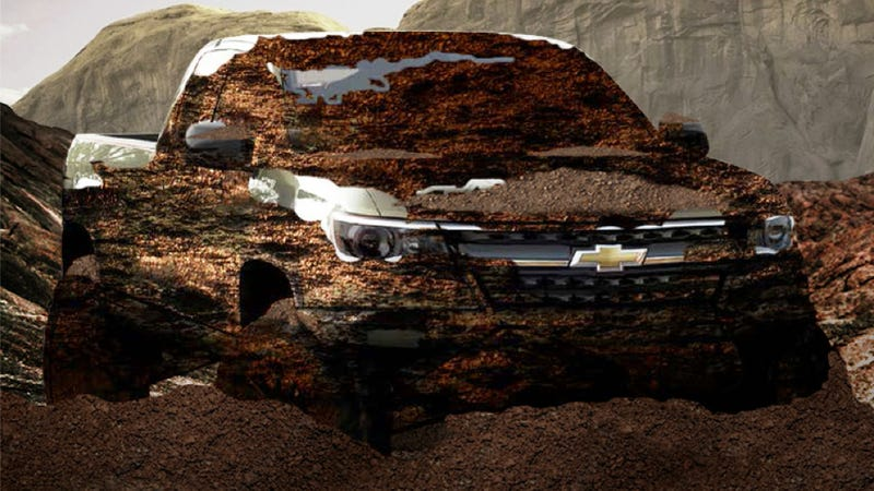 Illustration for article titled What Do You Think Today's 2015 Chevy Colorado 'Off-Road Reveal' Will Be?