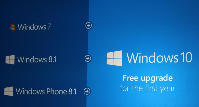 Windows 10 será gratis durante año para usuarios de Windows