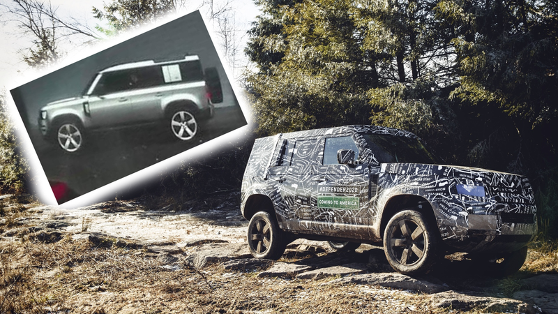 Images: LandRoverPhotoAlbum on Twitter and Land Rover.