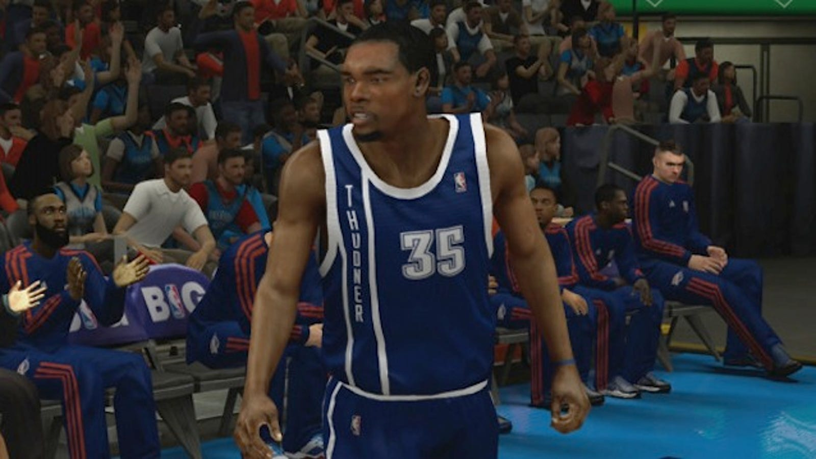 c03742efd NBA 2K13 Leaks The New OKC Jersey