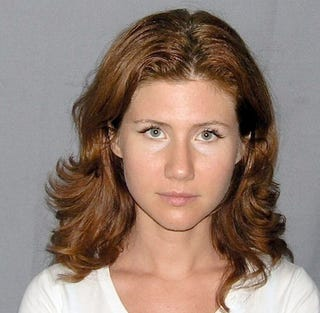 Illustration for article titled Sexy Russian Spy Puts Celebrity Mugshots To Shame