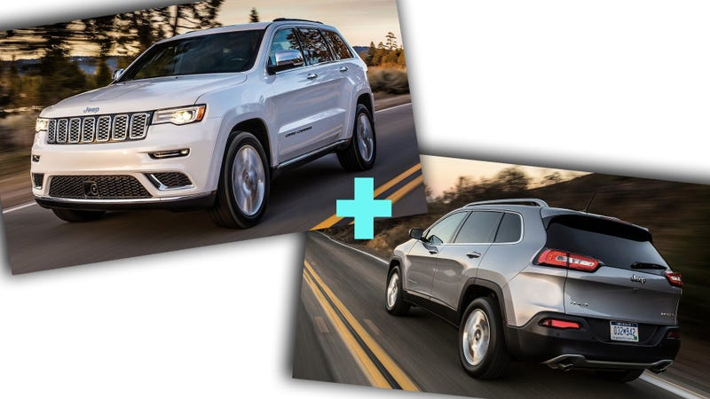 Like a Cherokee with a nicer face. Or, really, just a scaled-down Grand Cherokee (Images via FCA)