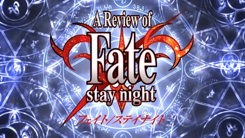 Illustration for article titled Grex's Fate/stay night (2006) Review