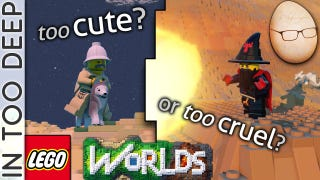 LEGO Worlds - Too Cute or Too Cruel? I Can't Even...