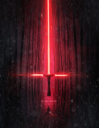 Illustration for article titled Star Wars: The Force Awakens posters made by fans could be official