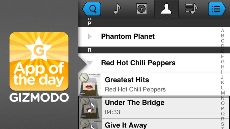Illustration for article titled Panamp Music Player for iPhone: A Faster iPod App