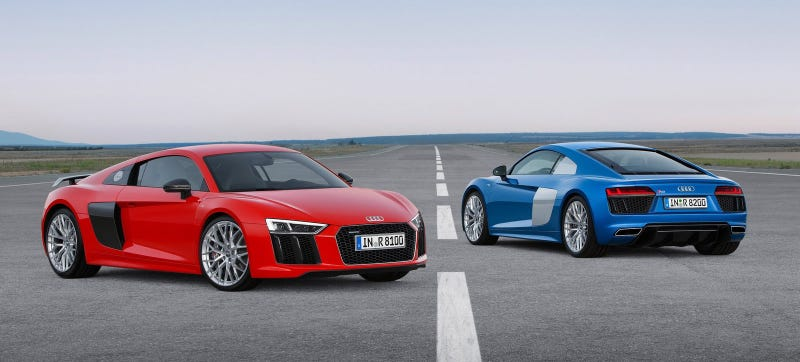 Illustration for article titled Audi Has 'No Interest' In A V8 For The 2016 R8
