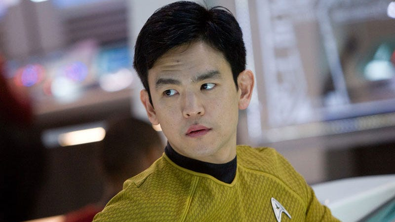 Illustration for article titled John Cho's Sulu Will Be Revealed as Gay in This Summer'sStar Trek Beyond
