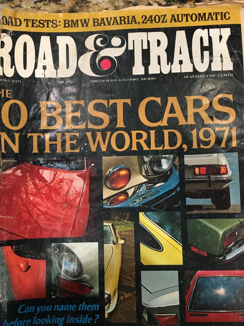 Illustration for article titled 1971 Road & Track classifieds