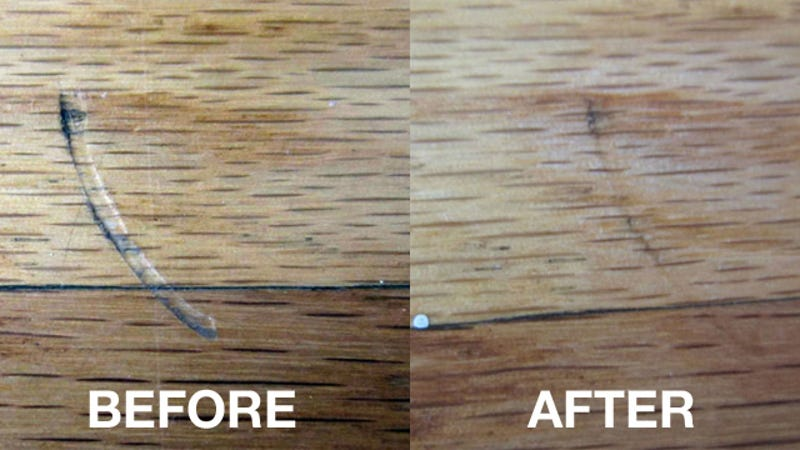 - Remove Scratches And Dents In Hardwood Floors With An Iron